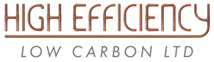 High Efficiency Low Carbon Logo